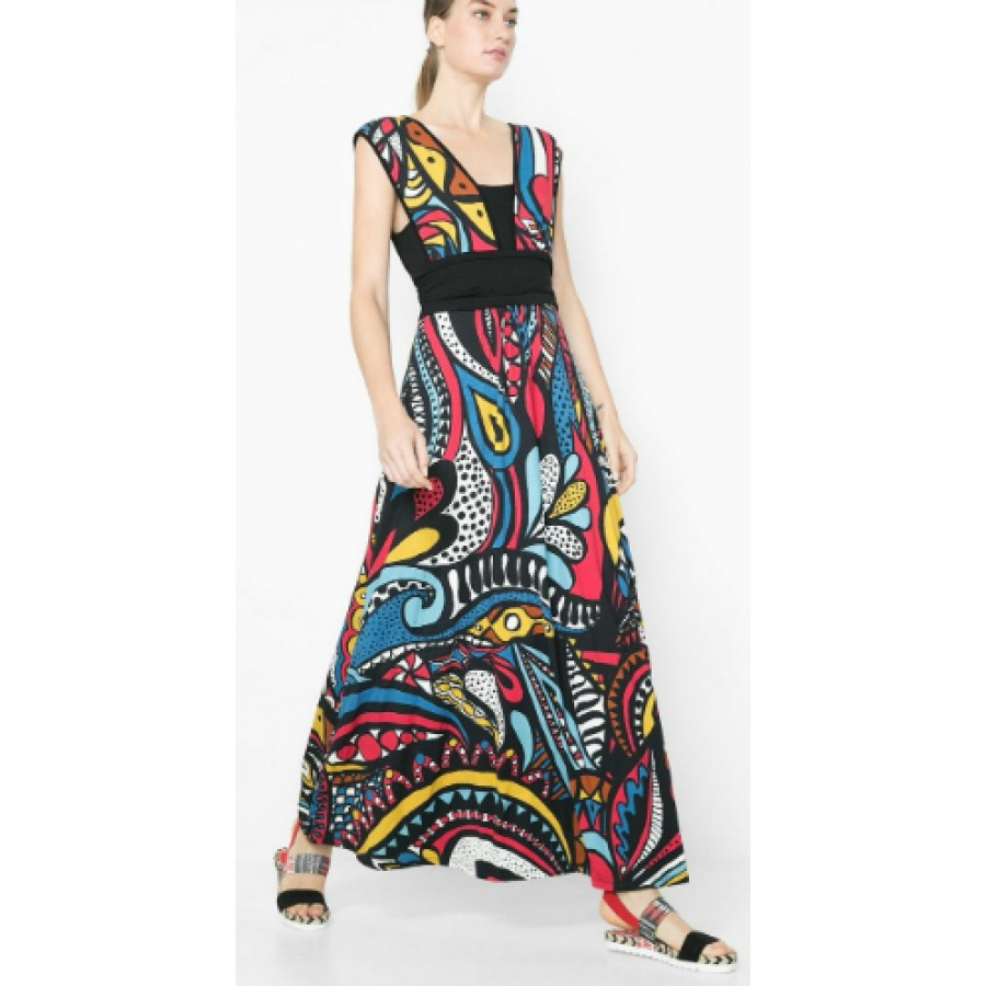 shop desigual dress jazmin at a fashion day find garment. Black Bedroom Furniture Sets. Home Design Ideas