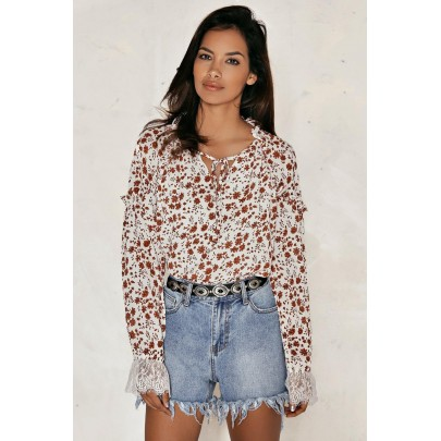 Banks Floral Blouse